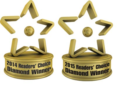 2015 Diamond Readers' Choice Award